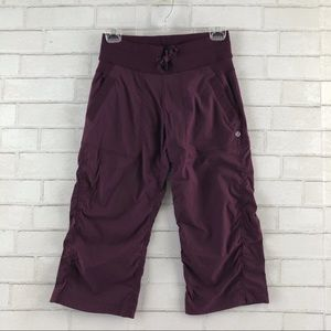 Lululemon Dance Studio Crop Capri Pant Size 4
